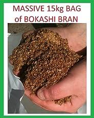 EM Bokashi-Kleie, Naturfutter, Kompost-Aktivator, angereichert mit Mikroben, extra großer Vorteilsack, 15kg