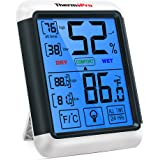 ThermoPro TP55 Digital Thermometer Hygrometer Temperature Humidity Meter Indoor Humidity Monitor