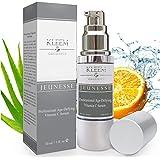Kleem Organics Vitamine C Serum voor Gezicht met Hyaluronzuur & Vitamine E | Natuurlijk Anti Aging Huid Serum | Anti Rimpel G