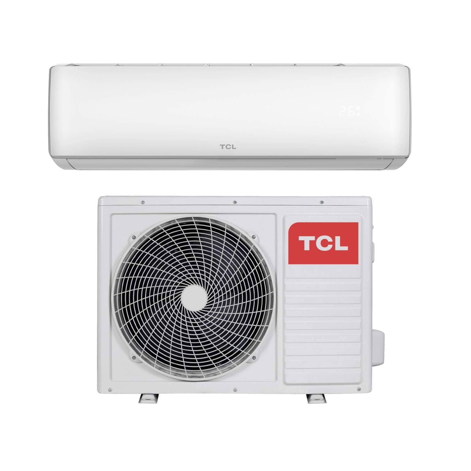 12000 BTU Smart WiFi A++ easy-fit DC Inverter Wall Split Air Conditioner  with 5 meters pipe kit - Wall Mounted Air Conditioning Unit with 5 years