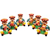 Gomati Ethnic Home Décor and Home Decorative Handicrafts Items handicrafts Decorative Arts & Crafts Rajasthani 6 Piece Musici