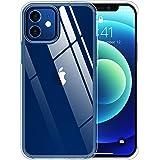 Temdan Hybrid Serie Kompatibel mit iPhone 12 Hülle und Kompatibel mit iPhone 12 Pro Hülle, Harte PC Rückseite und Weiche TPU