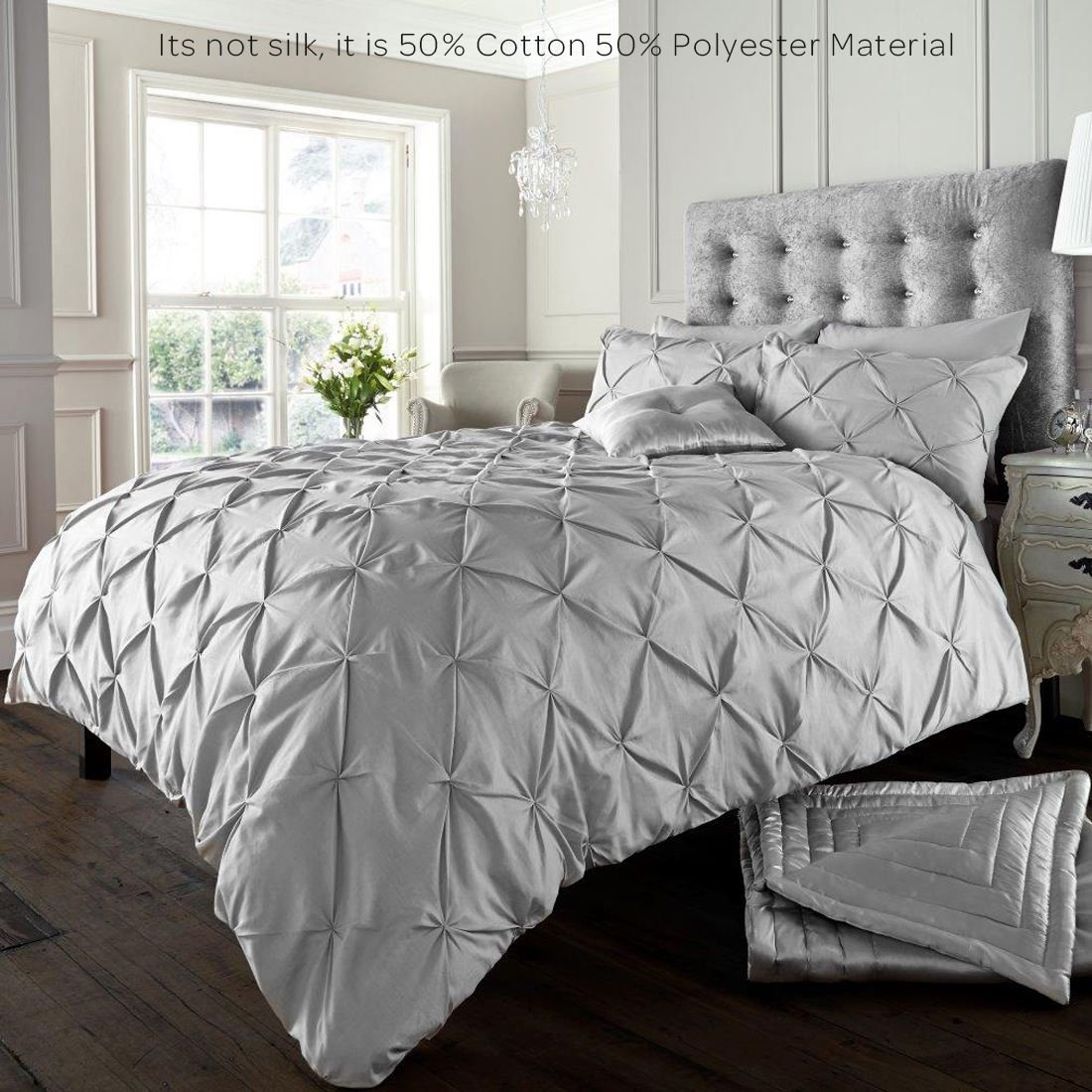Alford Duvet Cover with Pillowcase Quilt Cover Bedding Set - Soft ...