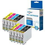 ECSC Compatible Encre Cartouche Remplacement pour Epson XP-455 XP-452 XP-445 XP-442 XP-435 XP-432 XP-355 XP-352 XP-345 XP-342 XP-335 XP-332 XP-257 XP-255 XP-247 XP-245 XP-235 T2996 (B/C/M/Y, 10-Pack)