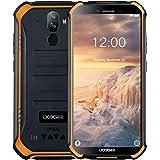 "DOOGEE S40 Android 9.0 Rugged Smartphone in Offerta 4G, Dual SIM Cellulari Offerte IP68/IP69K Impermeabile Outdoor 3GB+32GB, 5.5"" Pollici 8MP+5MP, 4650mAh, NFC Impronta Digitale+Faccia ID - Arancio"