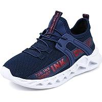 Decai Baskets Mode Enfant Garcon Chaussure de Course Fille Chaussures de Sport Légère Running Sneakers Respirant…