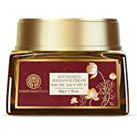 Forest Essentials Soundarya Radiance Cream With 24K Gold & SPF25 50g (Anti-Aging Face Cream)