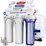 iSpring RCC7AK 6-Stage Superb Taste High Capacity Under Sink Reverse Osmosis Drinking Water Filter System with Alkaline Remin
