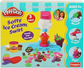 Funskool Play- Doh Ice Cream Swirl