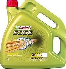 Castrol EDGE - Olio per motori 5 w-30 LL, 4L