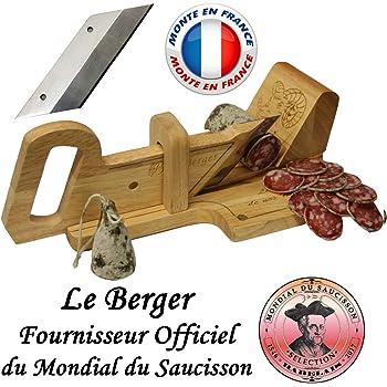 Le Berger : Guillotine, Trancheuse à Saucisson La montagnarde & Lame de Rechange Offert