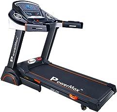Powermax Fitness TDA-230 (2.0 Hp) Semi-Auto Lubrication Motorized Treadmill