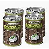 Naturseed - Nata de coco ecológica Original para cocinar, sin lactosa. Nata Vegetal (4X400ML)
