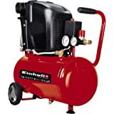 Einhell Kompressor TE-AC 230/24/8 (1500 W, max. 8 bar, 24 l-Tank, 230 L/min Ansaugleistung, 2850 (1/min), Ölschmierung sicher