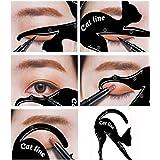 Eyeliner Cat - Stencil per contorno ombretto (set da 2) per smokey eyes e cateyes
