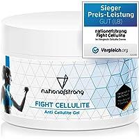 Fight Cellulite - 225ml crema anticellulite - gel anticellulite professionale e forte - prodotto in Germania - crema…