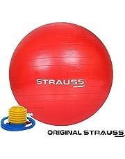 Strauss Rubber Anti-Burst Gym Ball