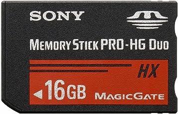 Sony SD Memory Card Memory Stick PRO-HG Duo HX 16GB PSP