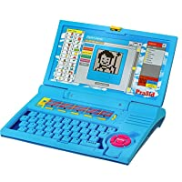 Prasid Kids English Learner Computer Toy Educational Laptop, Blue
