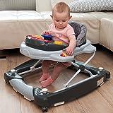 2IN1 Lauflernhilfe mit Schaukelfunktion + Spielcenter (12 Melodien+Licht) Gehfrei Gehhilfe Baby Walker Babyschaukel…