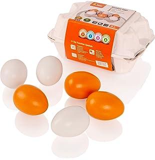Haba 1368 Landeier 6 Eier im Karton 1368 Baby