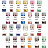 Mica Powders 24 Colour - Epoxy Resin Pigment, Soap Dye for Soap Making Supplies, Wider Application in Candle Making…