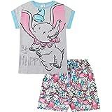 Disney Dumbo Be Happy Long Ladies Short Cotton Pyjamas