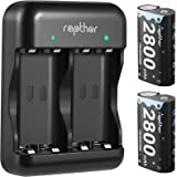 Rapthor Xbox Series X Battery Pack Rechargeable 2x2800mAh Xbox One Battery & Charger Set, 3H Quick Charge for Xbox One/Xbox O