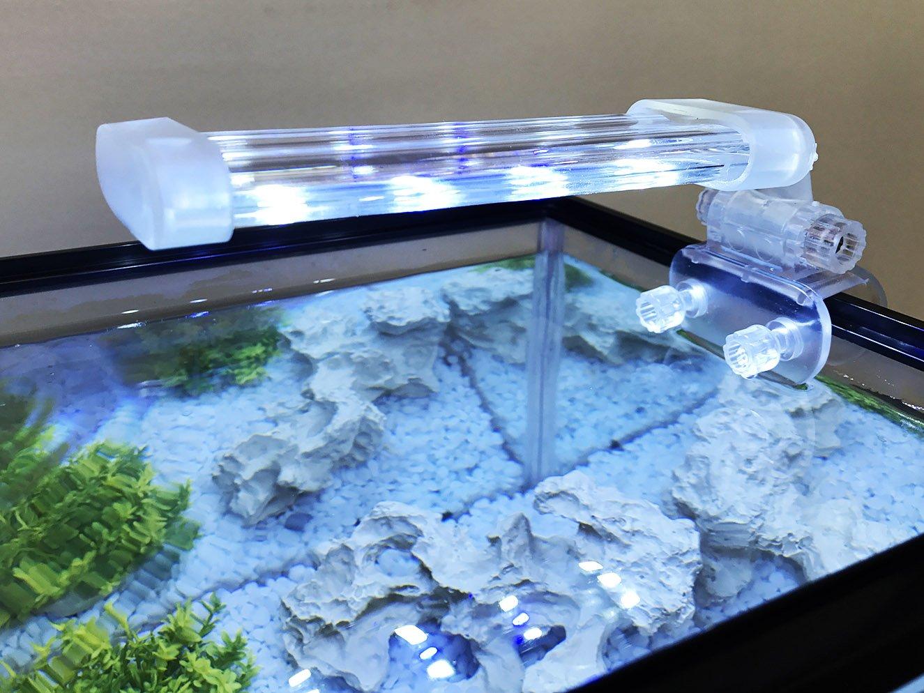 Bps lampada per acquario led illuminazione luci per piante