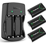 Smatree Kits Batterie Rechargeable pour Manette Xbox Series X / Xbox Series S / Xbox One /Xbox One S /Xbox One X/ Xbox Elite