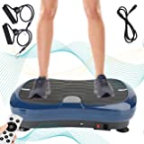 Triclicks Ultra Slim Fitness Power Trilplaat,Vibration Plate, Vibratietrainer,Vibration Shaper Plat,Bluetooth Speaker + Afsta