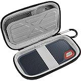Étui portable résistant aux chocs pour disques durs externes SanDisk Extreme SSD 250 Go/500 Go/1T/2T SSD USB 3.0 bleu