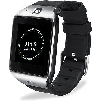 Montre Connectée, EasySMX Android Smartwatch Bluetooth 3.0-32 Fonctions Disponibles-Support Carte SIM