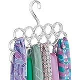 mDesign porte-foulard – pour le stockage organisé des foulards et écharpes dans votre armoire – idéal en tant que rangement p