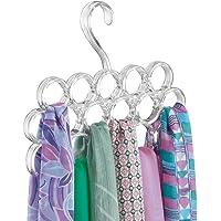 mDesign porte-foulard – pour le stockage organisé des foulards et écharpes dans votre armoire – idéal en tant que…