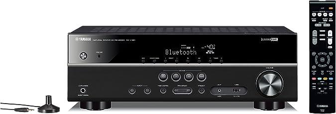 Yamaha RX-V381 AV-Receiver mit Bluetooth schwarz