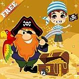 Piraten Spiele für Kinder und Kleinkinder : Entdecken Sie die Welt der Piraten und Korsaren ! KOSTENLOS Spiel