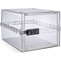Lockabox One | Boîte de rangement verrouillable compacte et hygiénique pour la nourriture, les médicaments et les…