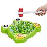 Think Gizmos Interaktiver Schlag den Frosch TG702 - lustiges Spielzeug für Jungen und Mädchen im Alter von 3, 4, 5, 6, 7, 8 J