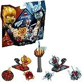 LEGO Ninjago Spinjitzu - Zane: Maestro del Dragón, Juguete de Construcción Ninja Coleccionable para Niños y Niñas de 8 a 14 A