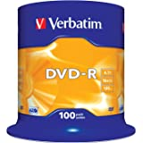 2x 50 DVD VERBATIM -R 16X 4.7GB ENVIO URGENTE o TARRINA 100 DVD-R ORIGINALES