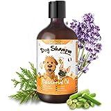 Dhohoo Shampoo per Cani Balsamo per allergie e prurito con Olio Essenziale, Ingredienti Naturali Shampoo per Cuccioli per Can