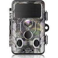 TOGUARD WiFi Bluetooth 20MP 1296P Caméra de chasse avec angle de surveillance de 120 ° avec vision nocturne infrarouge…