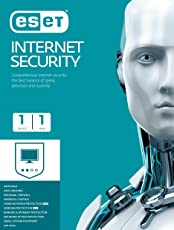 ESET Internet Security - 1 User, 1 Year (CD)