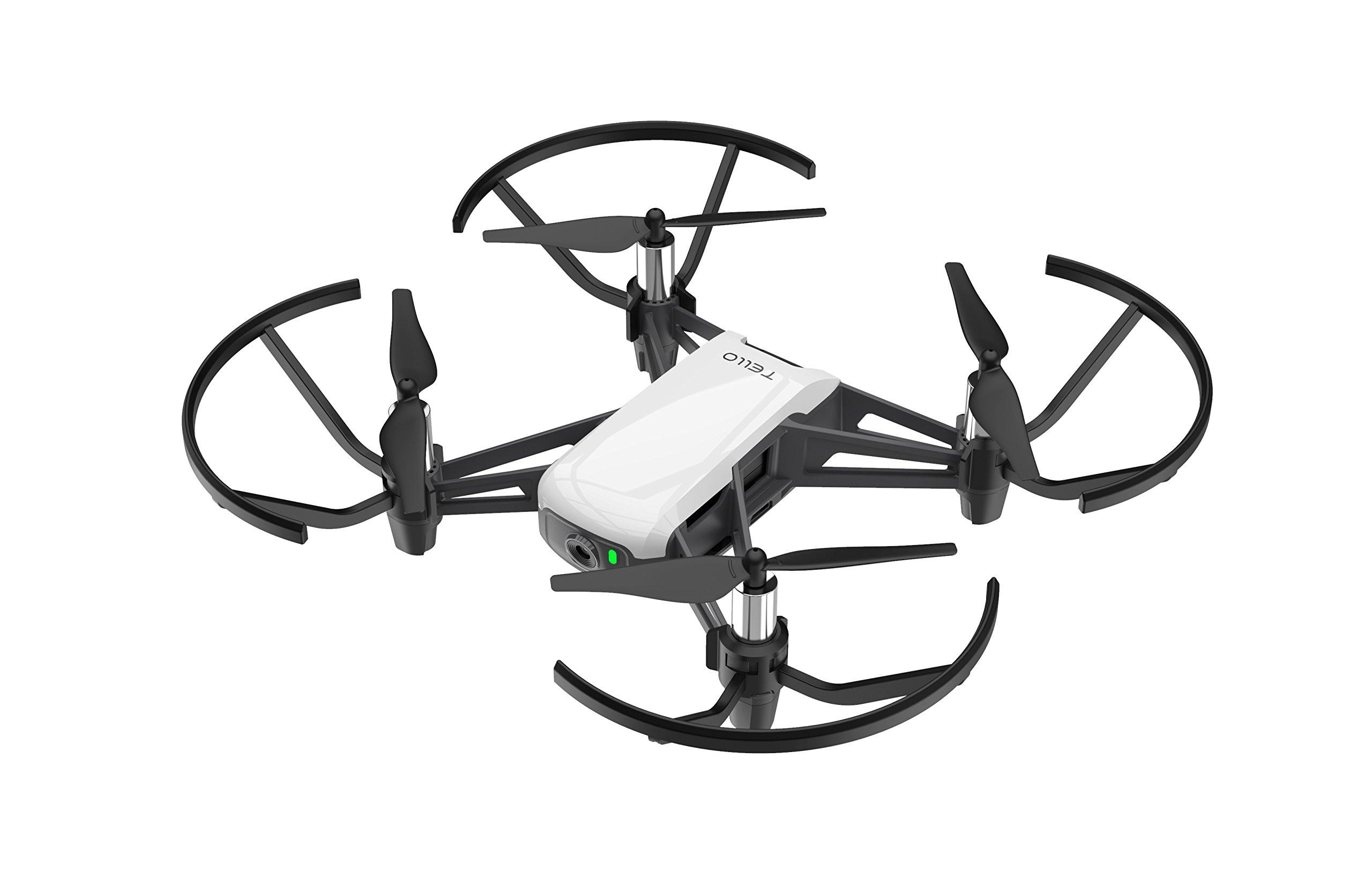 Ryze-DJI-Drone-Tello-compatibilit-casques-VR-et-contrleur-720p-Transmission-HD-et-100m-distance-de-vol-2-antennes-Blanc
