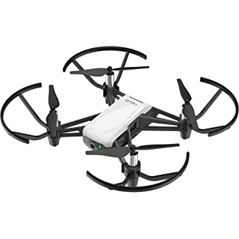 DJI Ryze Tello – Drone Mini Ideale per Creare Video con EZ Shots, Compatibile con Lenti VR e Controller, Trasmissione in HD fino a 720p e 100m Distanza di Volo