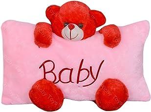 Richy Toys Stuffed Soft Plush Teddy Pillow (Pink)