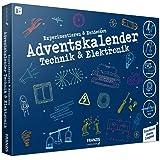 FRANZIS 67117 - Adventskalender Technik & Elektronik 2020 - 24 spannende Versuche zum Experimentieren & Entdecken, für Kinder