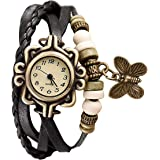 SWADESI STUFF Analogue Girl's Watch (Off-white Dial Multi Colored Strap)