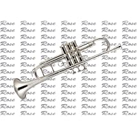 Rose band company Super Special Quality, Trumpet with Mute, Gloves, Oil, Cleaning Cloth, Hard Case and Mouthpiece…
